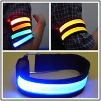 Magic Multi Color Glow LED Wrist Arm Band Bracelet