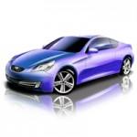 3D Car Photoshop